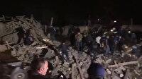 Ermenistan'dan alçak saldırı, Gence'de sivilleri hedef aldılar: Olay yerinden ilk görüntüler