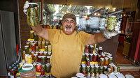 Antalya'da 240 çeşit turşu yapan usta son noktayı koydu: Sirkeyle yapılır