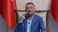 Cumhurbaşkanı Yardımcısı Oktay, KKTC Cumhurbaşkanı Ersin Tatar ile telefonda görüştü
