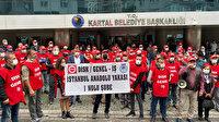 Bakırköy'den sonra Kartal Belediyesinde de işçiler grev kararı aldı