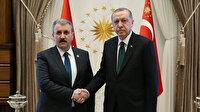Cumhurbaşkanı Erdoğan BBP Genel Başkanlığına yeniden seçilen Mustafa Destici'yi tebrik etti