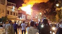 Bodrum'da balık restoranında çıkan yangın korkuttu