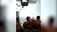 Azerbaycan askerleri Zengilan'ın işgalden kurtarıldığı haberini zafer nidalarıyla kutladı