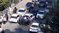 Mersin'de polisin 'dur' ihtarına uymayan araçtan terörist çıktı