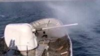 Türk Deniz Kuvvetleri'nden Saros Körfezi'nde atış eğitimi: Hedefler tam isabetle vuruldu