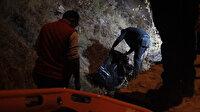 Kayseri'de dehşet: Başına taşla vurup öldürdü, kayalıklardan atıp üzerini taşla örttü