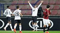 Milli futbolcu Yusuf Yazıcı Avrupa Ligi kariyerindeki ilk gollerini attı: Hat-trick yaptı