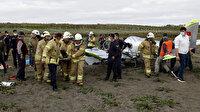 İstanbul Büyükçekmece'de düşen eğitim uçağının pilotu hayatını kaybetti