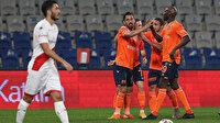 Başakşehir'den farklı galibiyet: Antalyaspor 10 kişi direnemedi