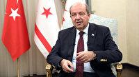 KKTC Cumhurbaşkanı Ersin Tatar: Gücümüzü Türkiye'den alıyoruz