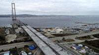 İstanbul'un trafiğini azaltacak: Simgelerin köprüsü hızla yükseliyor