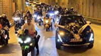İstanbul'da polis onları arıyor: Patinajlı ve makaslı düğün konvoyu terörü
