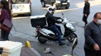 ''Benden hızlısı gerçekten mezarda'': Firmaların hız baskısı motosikletli kuryeleri isyan ettirdi