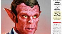 İran medyasında Macron öfkesi: Paris iblisi