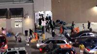 ABD'de polisin öldürdüğü siyahi Wallace'ın ardından başlayan protestolarda mağazalar yağmalandı