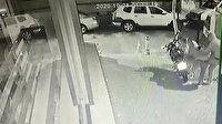 Motosikleti çalmak isteyen hırsızlar polise yakalandı