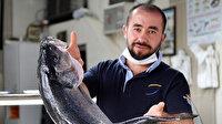 Düzce'de balıkçıların ağına takılan 15 kilogramlık levrek büyüklüğüyle şaşırttı