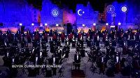 Cumhurbaşkanlığı Senfoni Orkestrası'nın 29 Ekim'e özel gösterisi İstiklal Marşı ile başladı