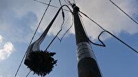 İstanbul'da internet kablolarını çalan hırsızlar yüzünden öğrenciler uzaktan eğitim alamıyor