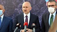 Ulaştırma ve Altyapı Bakanı Karaismailoğlu'ndan İzmir'deki depremle ilgili açıklama: İzmir'de ulaşım ve iletişim sıkıntısı yok