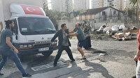 Küçükçekmece'de komşuların çatı malzemesi kavgası: Bıçaklar çekildi polis yetişti