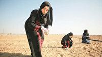 Gazzeli kadınlar tarıma yöneldi