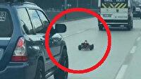'Eşimin gazına geldim' dedi gözaltına alındı: Trafikte 14 bin liralık oyuncağı ile terör estirdi