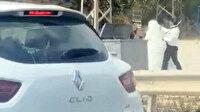 Hatay'da yol ortasında gelini feci şekilde döven damat tutuklandı