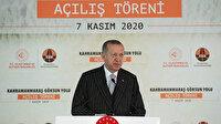 Cumhurbaşkanı Erdoğan, Edebiyat Yolu'nu hizmete açtı