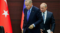 Cumhurbaşkanı Erdoğan ile Rusya Devlet Başkanı Putin bir görüşme gerçekleştirdi