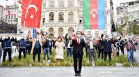 Beyoğlu'nda coşkulu Karabağ kutlaması: Aşk olsun Azerbaycan ordusuna