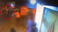 Isparta'da bir vatandaşı boğazından bıçaklayarak kaçan zanlı kamerada