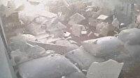 Sakarya'da havai fişek fabrikasında meydana gelen patlamanın yeni görüntüleri ortaya çıktı