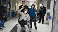 71 yaşında hem koronavirüsü hem felci yendi