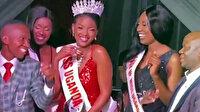 Esenyurt'ta bir gece kulübünde 'Miss Uganda' güzellik yarışması düzenlendi
