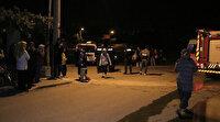 Adana'da kalabalığın yangını izlemesine koronavirüs engel olamadı