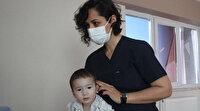 Özbekistanlı minik Mufliha yüzü Eskişehir'de güldü: Yaşama yeniden tutundu