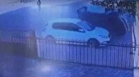 Siirt'te ehliyetsiz çocuk sürücünün ilginç kazası: Park halindeki araca çarpıp takla attı