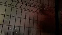 Kocaeli'deki silah fabrikasında korkutan yangın: Atış poligonu bölümü alevlere teslim oldu