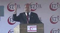 """KKTC Cumhurbaşkanı Ersin Tatar, """"Ne beşinci kol faaliyetleri ne de dış mihrakların oyunları asla tutmayacak"""""""