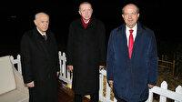 KKTC'de tarihi an: Erdoğan ve Bahçeli 46 yıl sonra açılan Maraş'a gitti