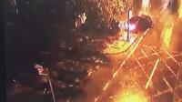 Kadıköy'deki tarihi çeşme bir aracın çarpması sonucu paramparça oldu