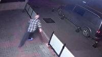 Hırsızlara dükkan sahibinden sürpriz: Elinde sopayla bekleyen yaşlı adamı görünce arkalarına bile bakmadan kaçtılar