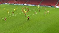 Gecenin golü Kazak futbolcudan geldi: Santradan attı