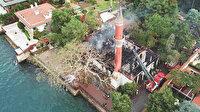 Vaniköy Camii nasıl yandı?