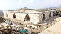 Teröristlerin yakıp yıktığı tarihi kasır yeniden inşa edildi