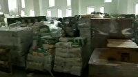 Türkiye İzmir için tek yürek oldu, fuar alanı yardım malzemesi doldu