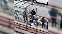 Sultangazi'de durakta tramvay bekleyen adam, geçirdiği kalp krizi sonucu hayatını kaybetti