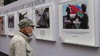 Beyoğlu'nda anlamlı bir sergi: Karabağ'ın kurtuluşunu anlatan fotoğraflar ilgi odağı oldu