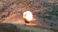 Kuzey Irak'ta PKK'lıların hain tuzakları imha edildi